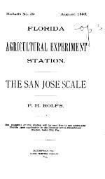 The San Jose scale