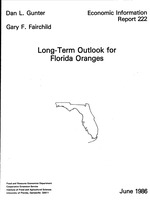 Long-term outlook for Florida oranges