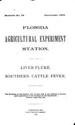 Liver fluke  Southern cattle fever