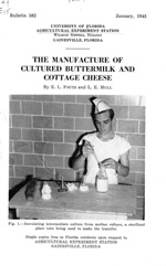 The manufacture of cultured buttermilk and cottage cheese