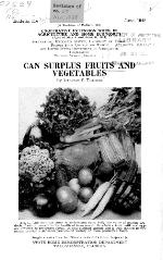 Can surplus fruits and vegetables