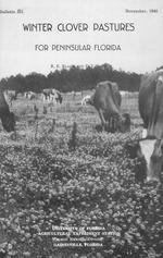 Winter clover pastures for peninsular Florida