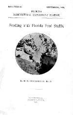 Feeding with Florida feed stuffs