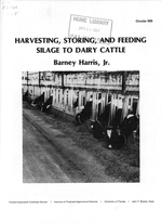 Harvesting, storing, and feeding silage to dairy cattle