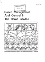 Insect management and control in the home garden