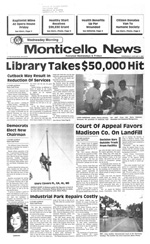 The Monticello news