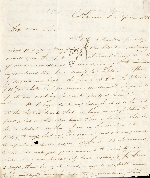 Letter from John Parker to A. C. Johnstone, 3 April 1815