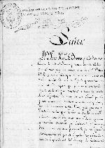 Petition from Jose Francisco Barreto y Cardenas to King Ferdinand VII, 10 October 1814