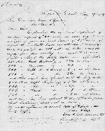 Letter from Vanderkieft LaPuerta & Co. to Churchill, Browns & Manson Co., 29 May 1867
