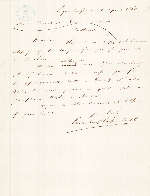 Letter from Vanderkieft LaPuerta & Co. to Churchill, Browns & Manson Co., 4 April 1868