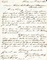 Letter from J. C. Burnham & Co. to Churchill, Browns & Manson Co., 2 October 1868