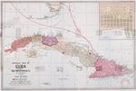 Official map of Cuba