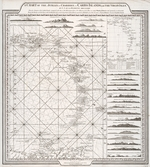 A chart of the Antilles, or Charibbee, or Caribe Islands, with the Virgin Isles