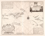 A hydrographicall chart of the Virgin Islands