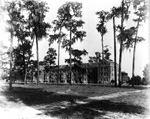 Exterior View of Buckman Hall on the University of Florida campus