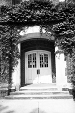 East entrance to Bryan Hall