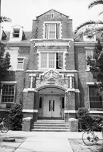 Main entrance to Floyd Hall on the University of Florida campus