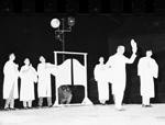 1963 Gator Growl skit at the Homecoming pep rally at the University of Florida.