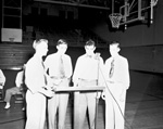 Officers of 4-H Boys' Club Council in Florida Gym on the campus of the University of Florida
