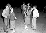 """""""Match Boxing"""" game played by members of the Florida Rex-Campville 4-H club."""