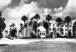 East and south exteriors of Florida Union on the campus of the University of Florida