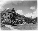Early view of Buckman Hall on the University of Florida campus