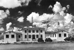 View of main buildings at the Everglades Experiment Station at Belle Glade, Florida.