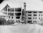 View of construction at Weil Hall, the University of Florida's main Engineering and Industries Building