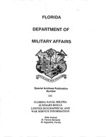 Florida naval militia summary rolls
