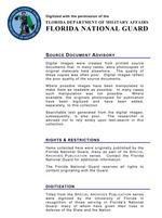Florida militia muster rolls, Seminole Indian Wars