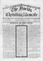 The Florida Christian advocate