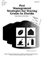 Pest management strategies for storing grains in Florida