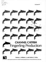 Channel catfish fingerling production