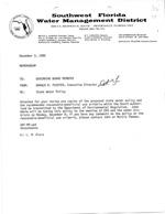 Memorandum to Governing Board members