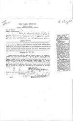Publication of Legal Notice