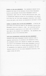 Summary of the Rule Amendments