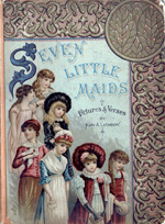 Seven little maids, or, The birthday week