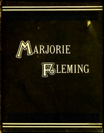 Marjorie Fleming, a sketch