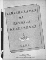Bibliography of Florida government.