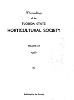 Annual meeting of the Florida State Horticultural Society