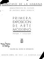 Primera Exposición de arte moderno