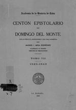 Centón epistolario de Domingo del Monte