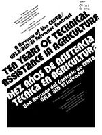 Ten years of technical assistance in agriculture