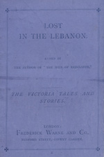 Lost in the Lebanon