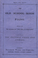 The old school-room piano