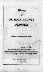 History of Orange County, Florida