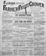 Florida dispatch and farmer and fruit grower