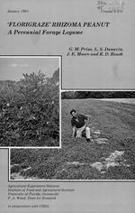 'Florigraze' rhizoma peanut  a perennial forage legume  G.M. Prine ... [et al.]