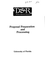 Proposal preparation and processing