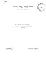 Evaluacion de aceptabilidad para el cultivo del trigo, Quezaltenango, 1978-1979